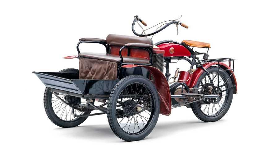Skoda-Historie: Das LW-Dreirad von Laurin & Klement