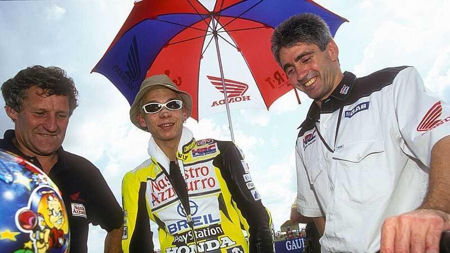 El agridulce debut de Rossi en 500cc