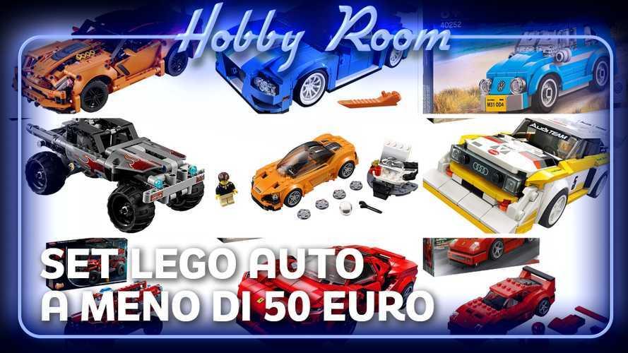 Lego, i migliori modellini auto sotto i 50 euro