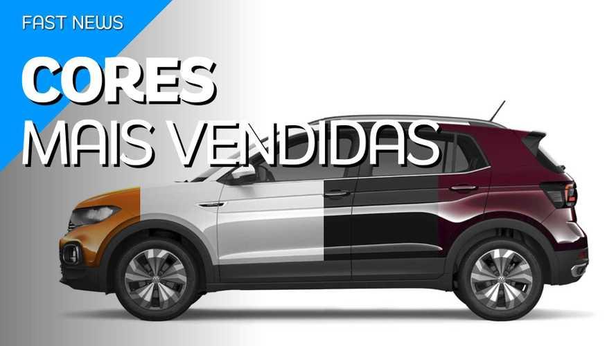 Vídeo: Quais são as cores de carros mais vendidas no Brasil?