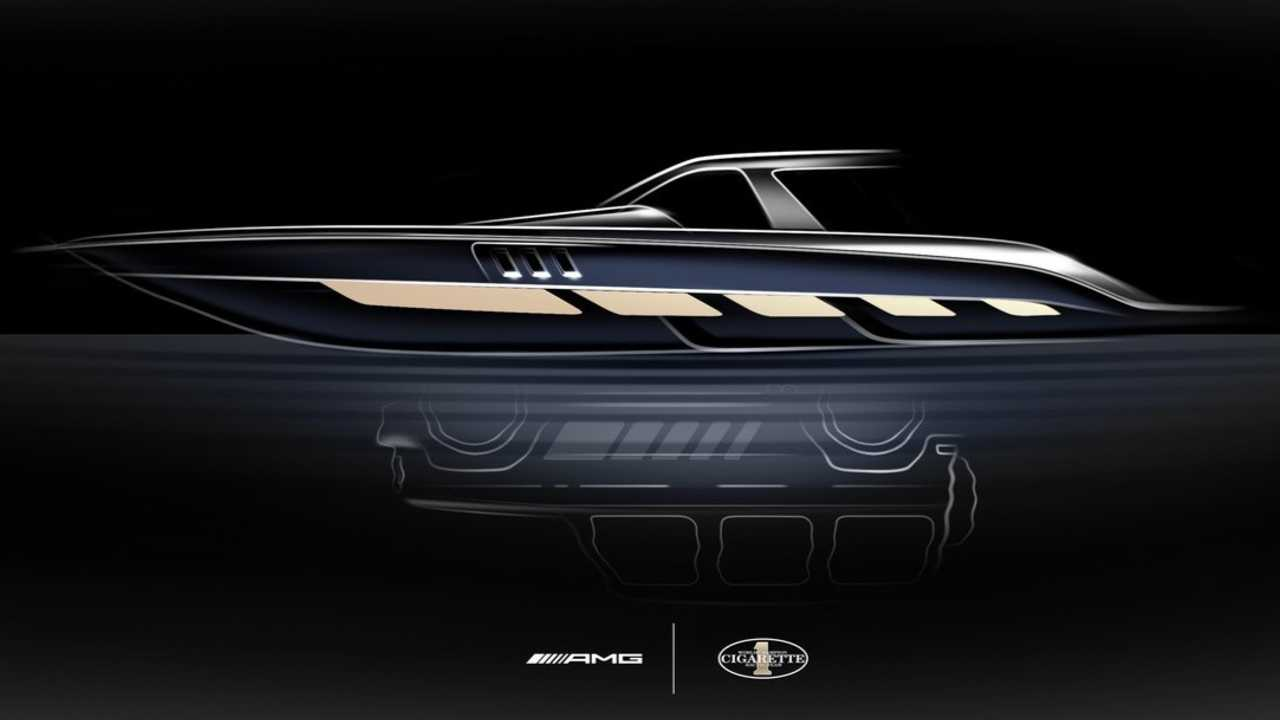 2020 Mercedes-Benz Cigarette Racing Boat