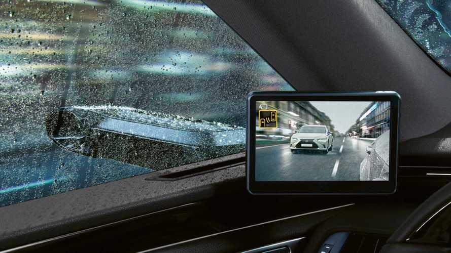 """Európában is bemutatja innovatív """"visszapillantóit"""" a Lexus"""