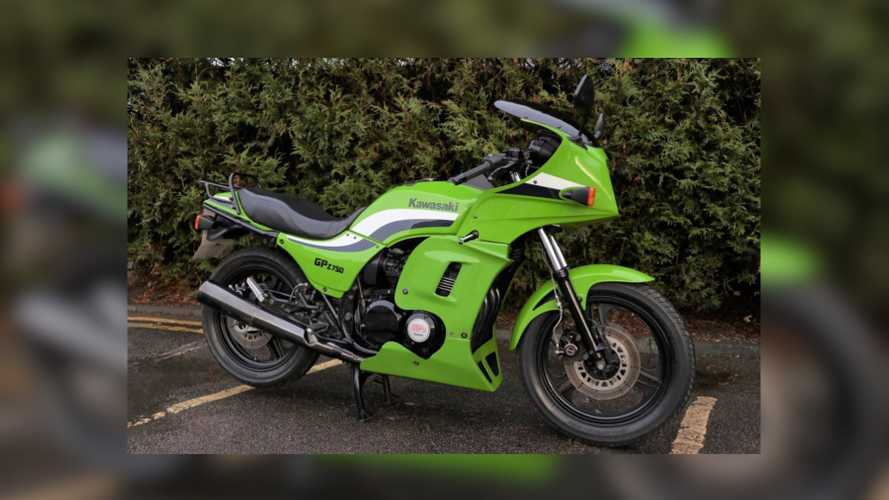 This 1986 Kawasaki GPZ 750 Is Up For Grabs