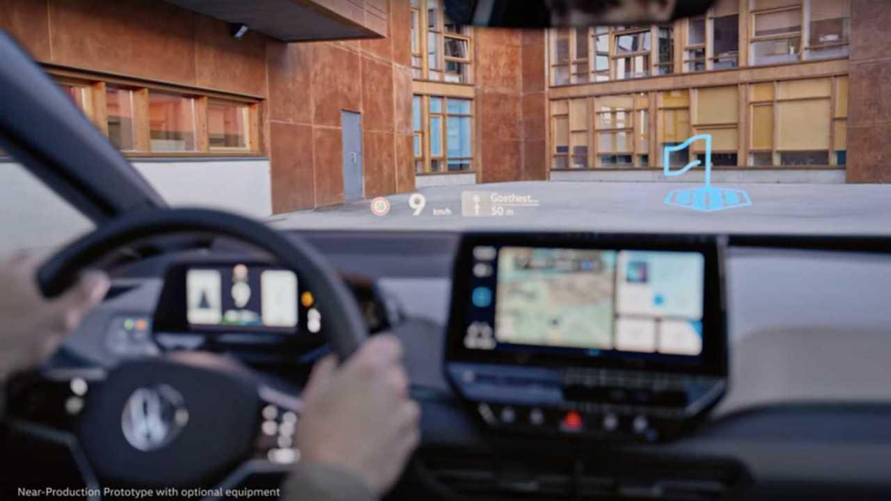VW ID.3 Augmented Reality HUD