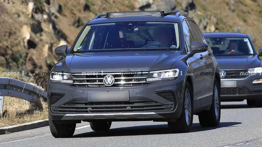 Flagra: Novo VW Tiguan 2021 intensifica testes pouco antes da estreia