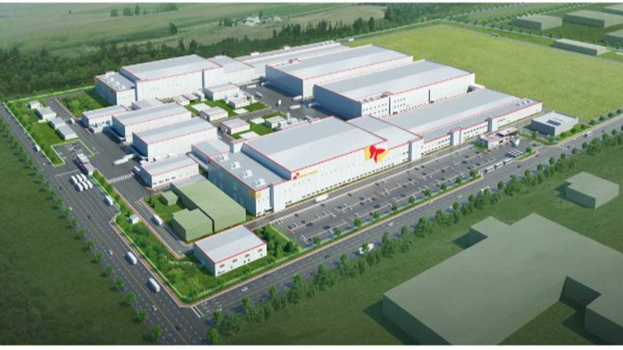 SK Innovation plant in China