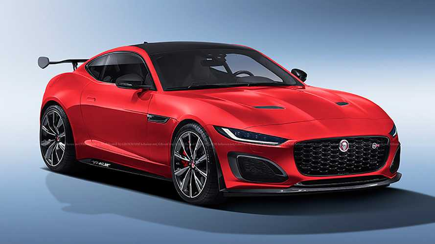 2021 Jaguar F-Type SVR rendering