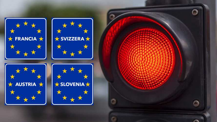 Coronavirus, le frontiere aperte e chiuse con l'Italia per gli automobilisti