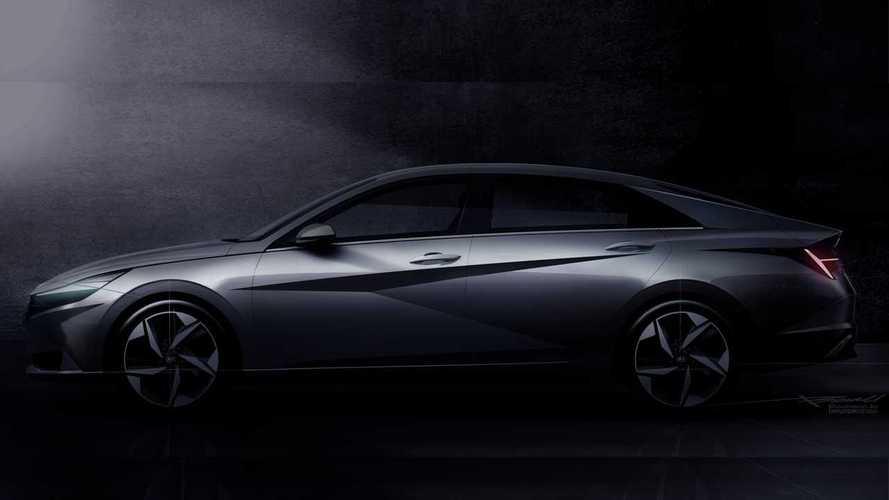 Teaser: Novo Hyundai Elantra 2021 terá estilo fastback