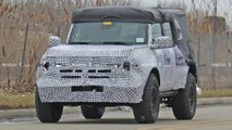 2021 Ford Bronco Spy Photos