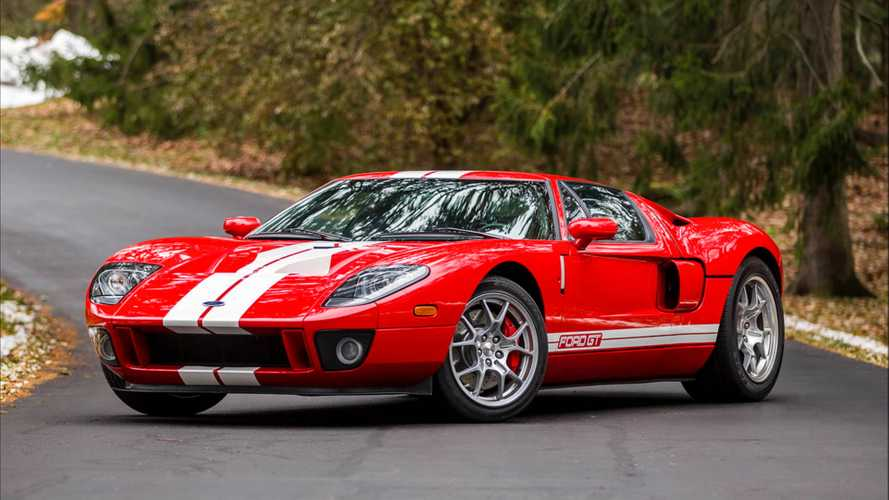 Bid On A Like-New 2005 Ford GT