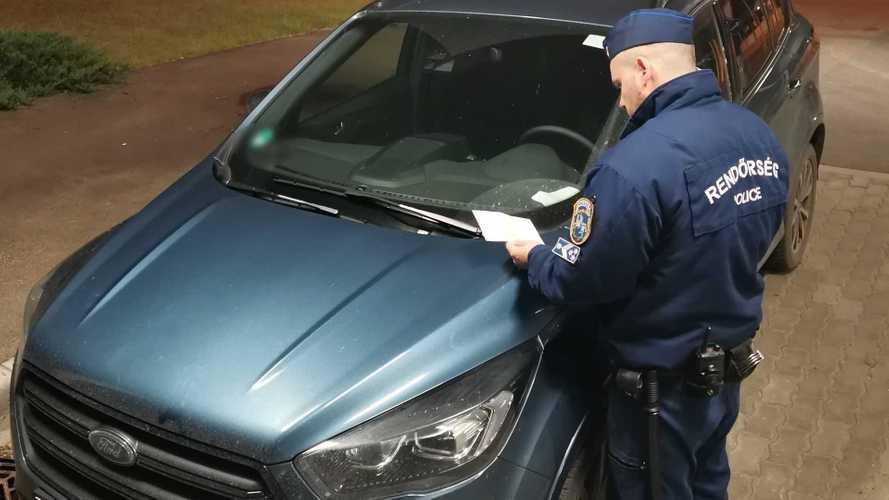 Mindössze félórányi körözés után sikerült lekapcsolni egy lopott Fordot