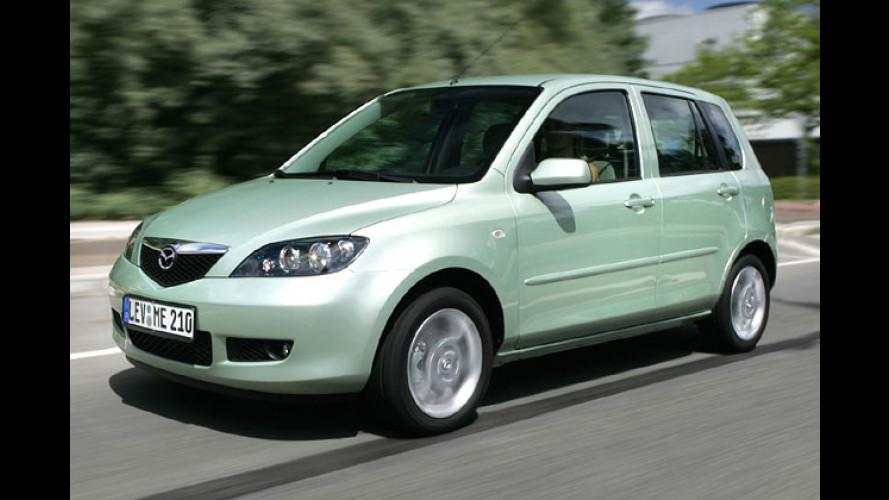 Mazda 2 Facelift: Kleinster Mazda jetzt fit für 2006