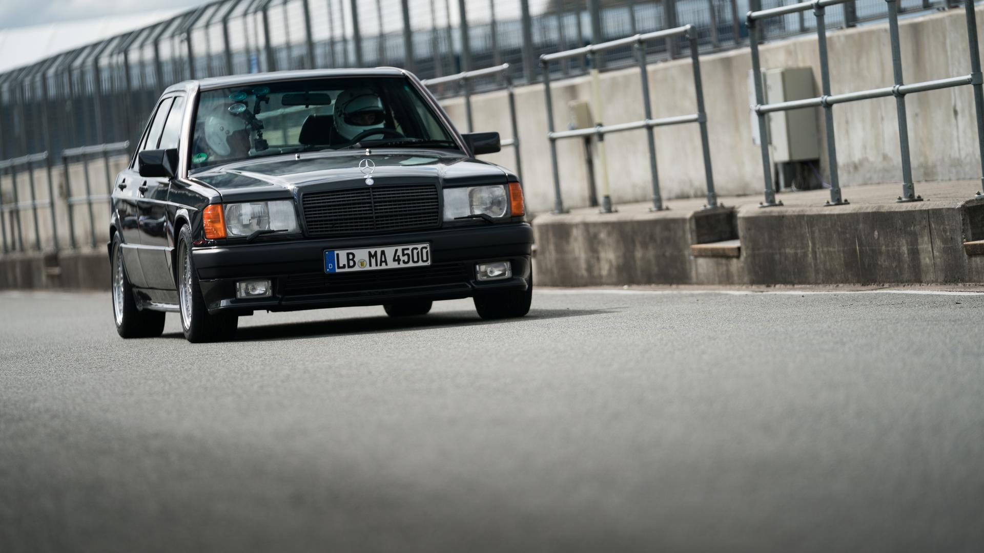 50 Years Of Amg Driving The Mercedes 190e 3 2 Amg