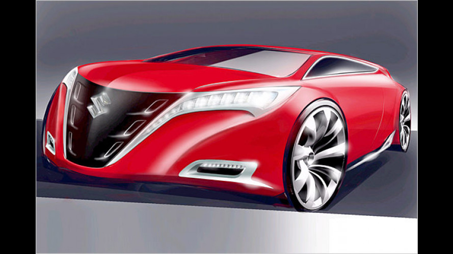 Suzuki auf der IAA: Kizashi und eine spritzige Premiere