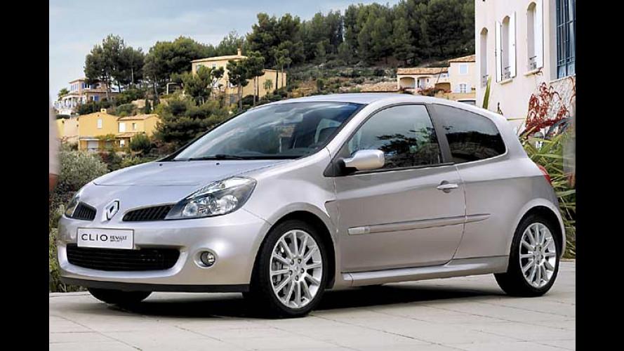 Gallischer Kraftzwerg ab September 2006: Clio Renault Sport