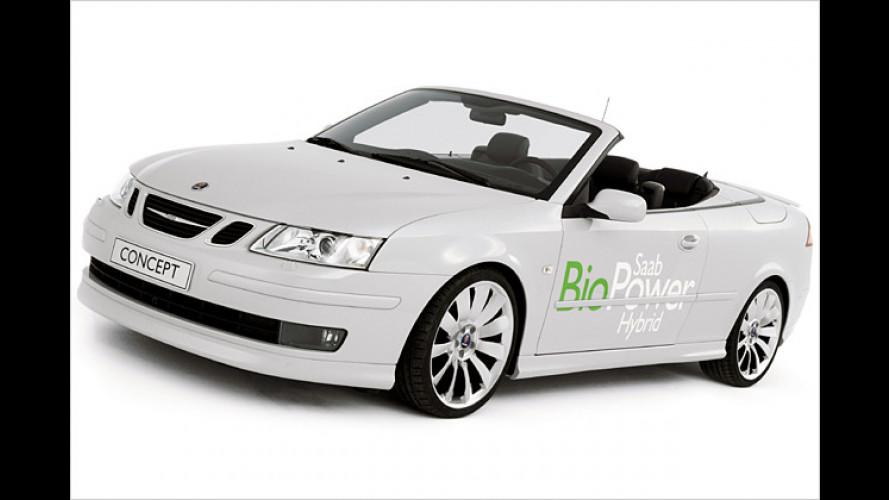 Die Kraft der Regeneration: Saab BioPower Hybrid Concept