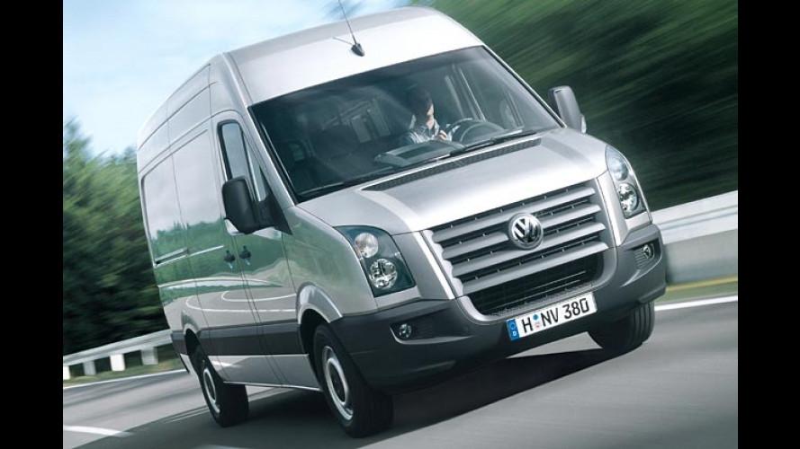 VW Crafter: LT-Nachfolger mit wuchtigem Frontgrill