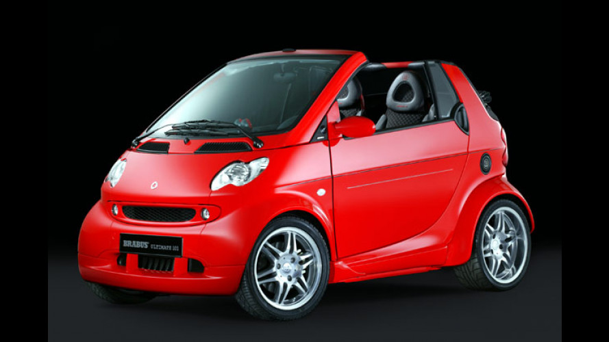 Smart Brabus Ultimate 101: Hundertundein Cabrio