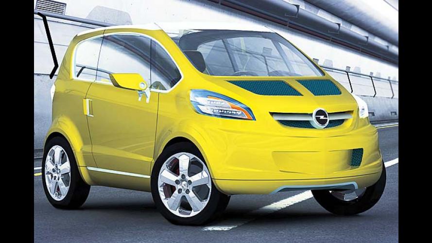 Innovative Opel-Studie Trixx: Cleverle soll Smart austrixxen