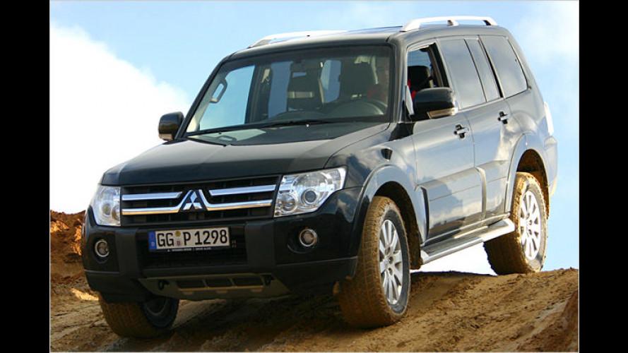 Mitsubishi Pajero: Neue Auflage des Geländeklassikers