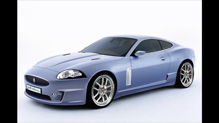 Mehr Biss für die Raubkatze: Jaguar XK von Arden