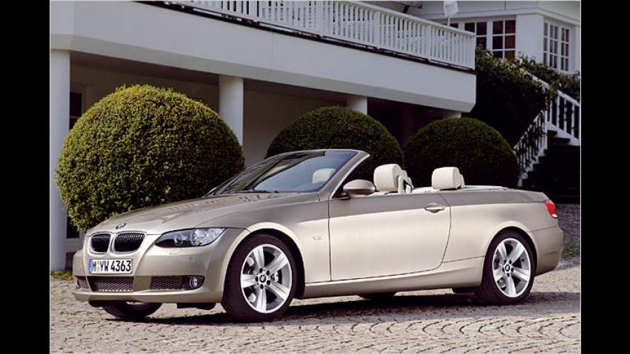 Schöne Offenheit: Das BMW Dreier-Cabrio kommt 2007