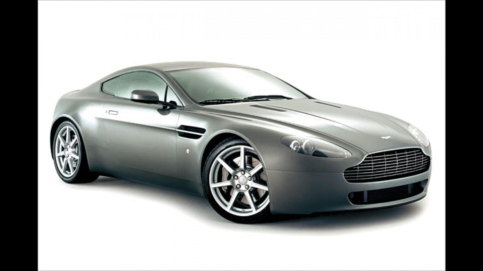 Un arnter Erlkönig Neues Aston Martin Cabriolet erwischt