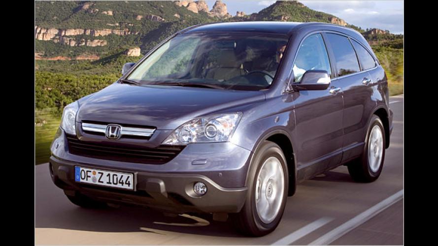 Honda CR-V: Die dritte Generation ist mehr Kombi als SUV