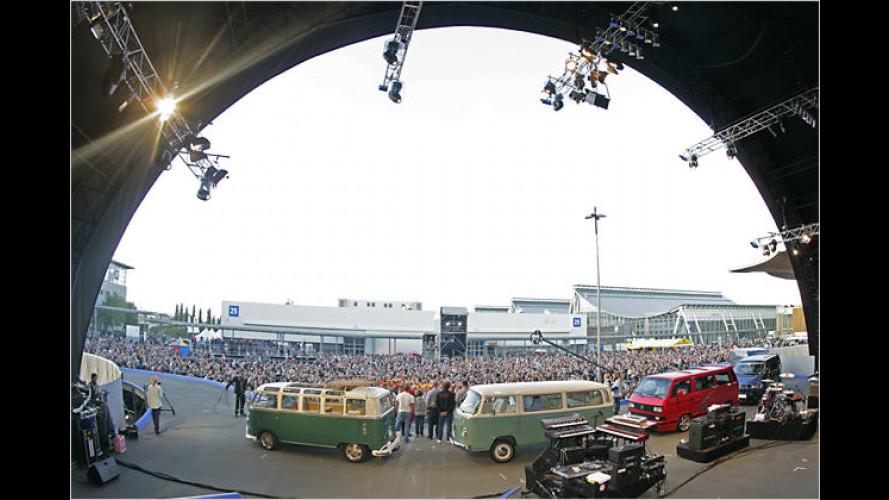 60 Jahre Bulli: Die Schönsten vom VW-Bus-Treffen