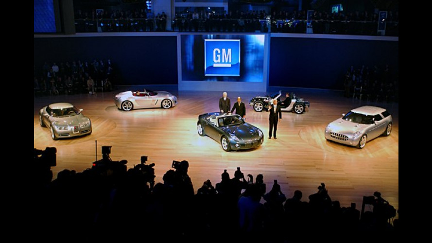 General Motors zeigt faszinierende Studien in Detroit