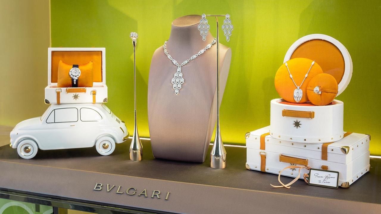 Fiat 500 Bulgari Jewelry