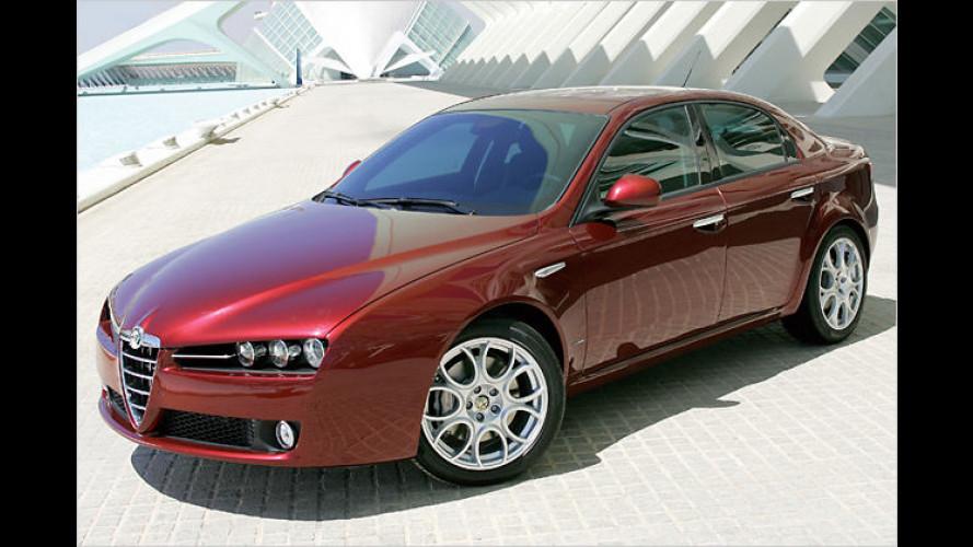 Mehr PS und mehr Traktion: Alfa Romeo 159 2.4 JTDM Q4