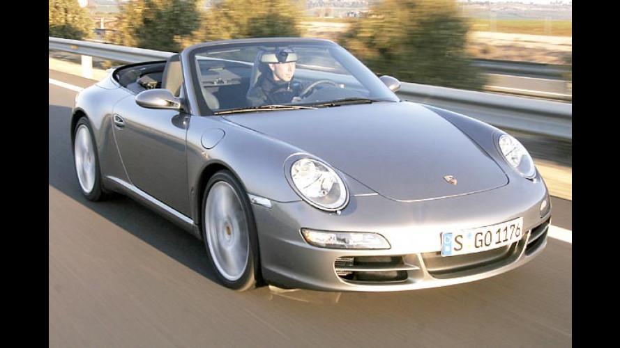 Porsche 911 Cabriolet im Test: Mit Sturm-Gewähr