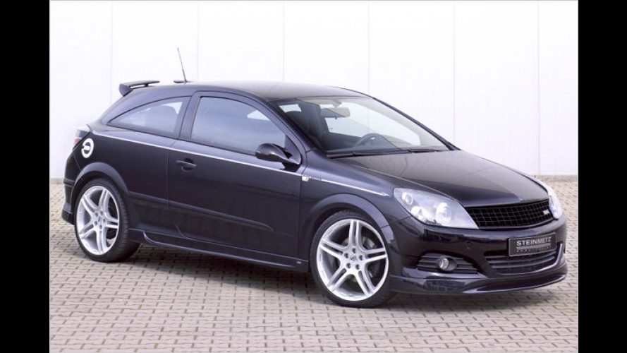 Opel Astra GTC von Steinmetz: Brav sein können andere