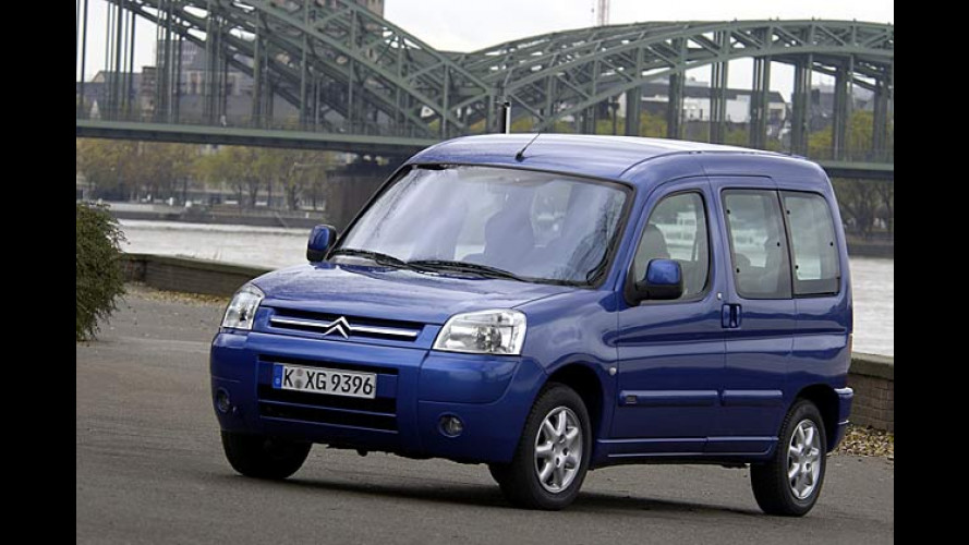 Citroën Berlingo (2004): ABS nun auch in der Basisversion