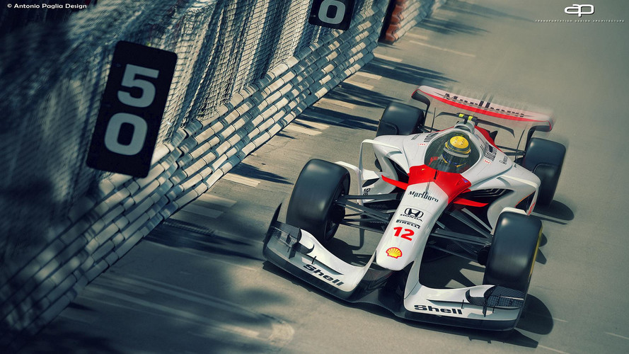 Designer italiano cria modelos de F1 para 2025