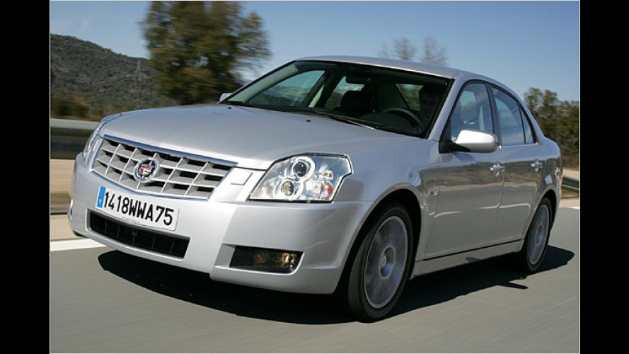 Markanter Luxus: Neues Sondermodell Cadillac BLS Prestige