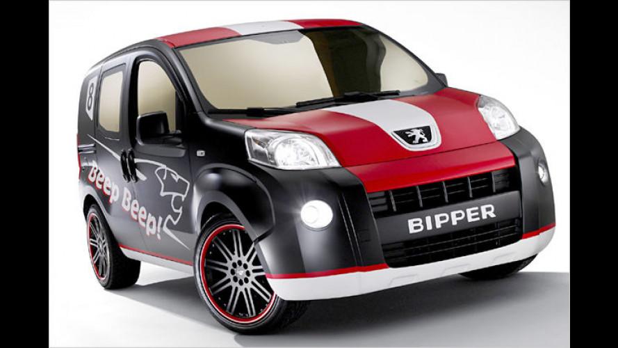 Neues Concept Car von Peugeot: Der Bipper Beep Beep