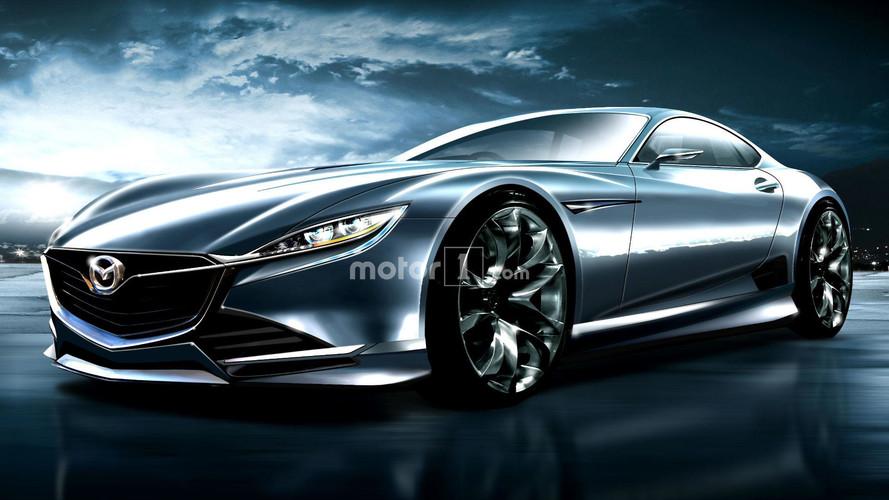 Mazda RX-9 Rendering