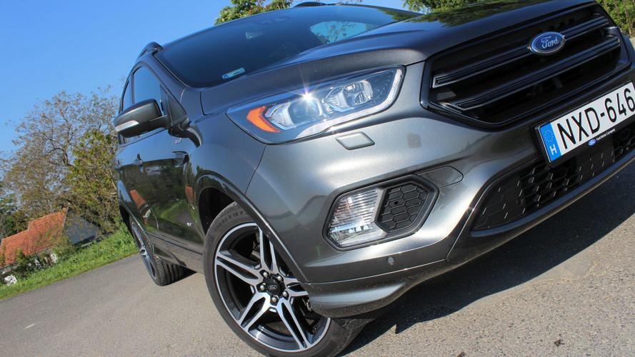 Ford Kuga 2.0 TDCi ST-Line AWD: nyomokban Fiesta ST-t tartalmaz?