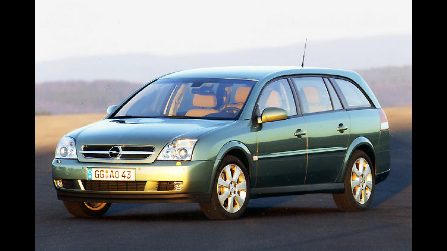 Opel Vectra, Vectra GTS, Vectra Caravan und Signum: Neuer 1,9-Liter-CDTI mit Diesel-Partikelfilter