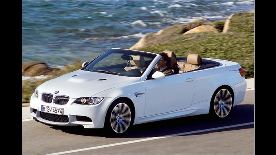 Bald da: Das starke BMW M3 Cabrio prescht nach vorn