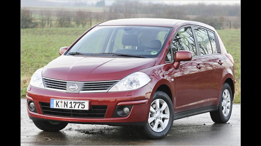 Nissan Tiida: Das Weltauto kommt als ungeliebter Neuling