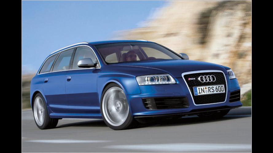 Audi: Das A3 Cabrio und der RS 6 Avant stehen am Start