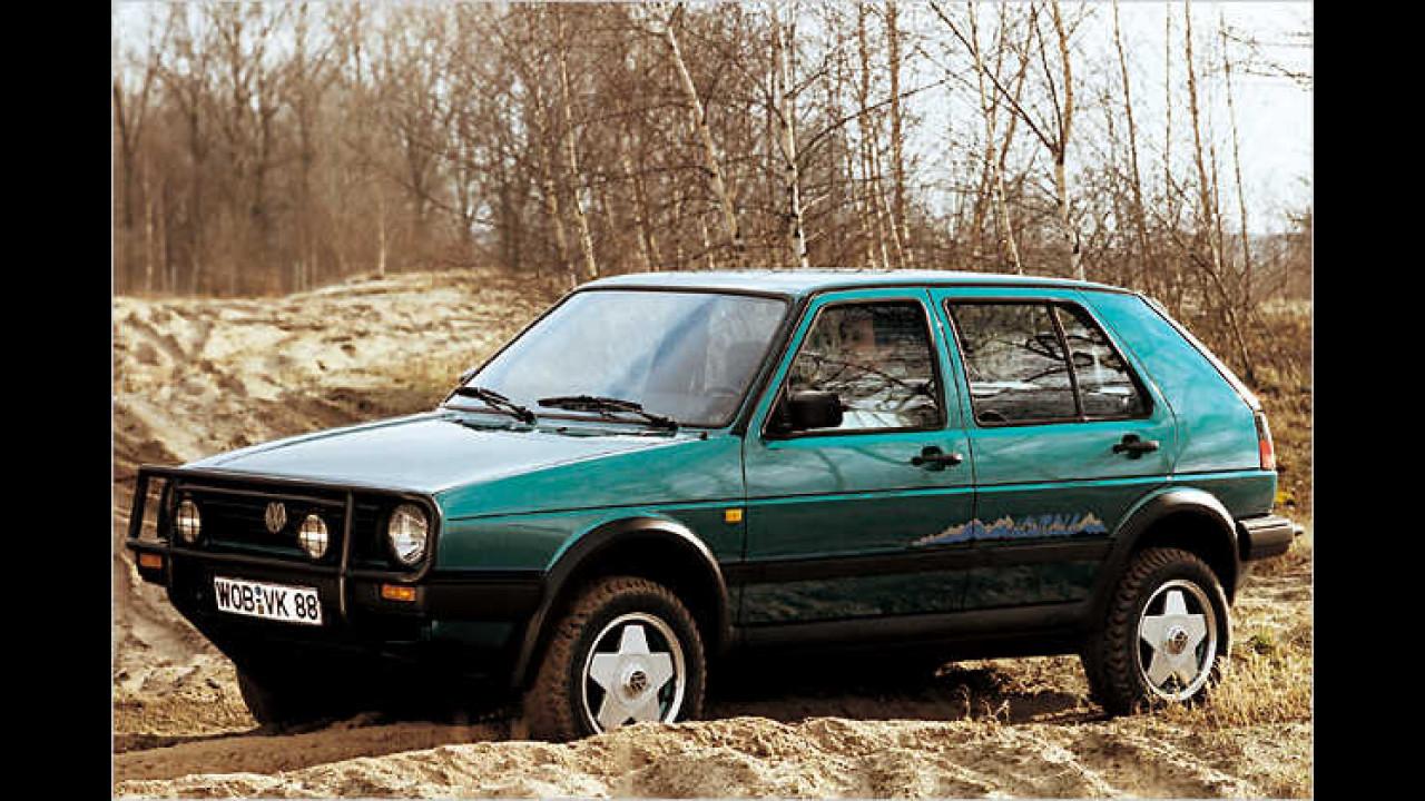 VW Golf II Country, Bauzeit: 1990 bis 1991