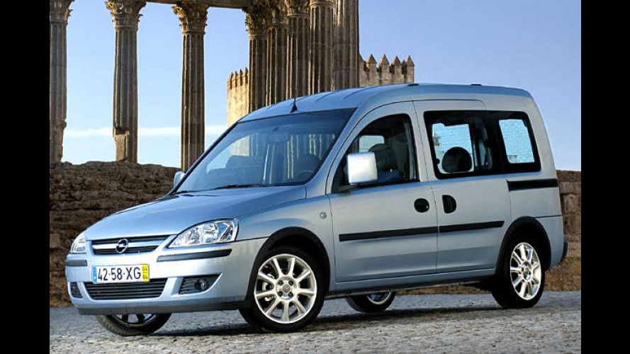 Opel Combo: Neue, stärkere Motoren für den Kleintransporter