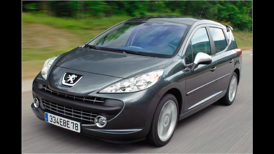 Geräumig und flott: Der Peugeot 207 SW RC mit 175 PS