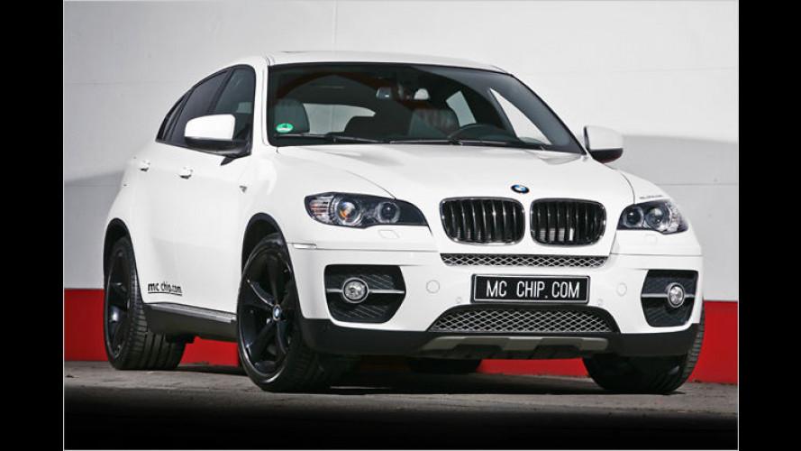 Ein Bayer wird zum weißen Hai: BMW X6 von mcchip