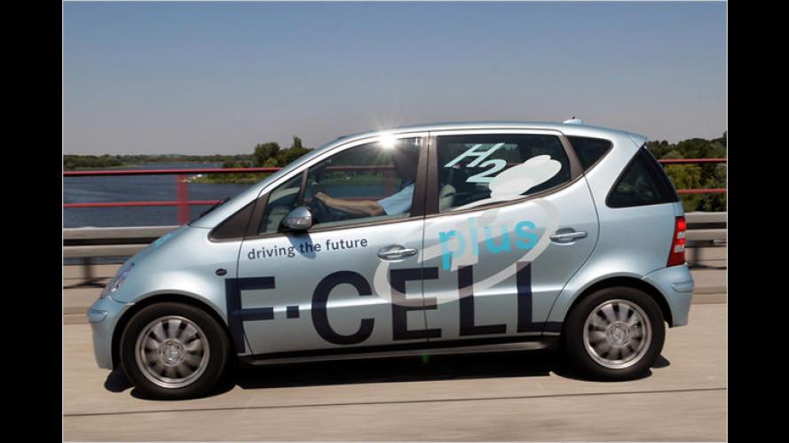 Mercedes-Brennstoffzelle: Mehr Druck für mehr Reichweite